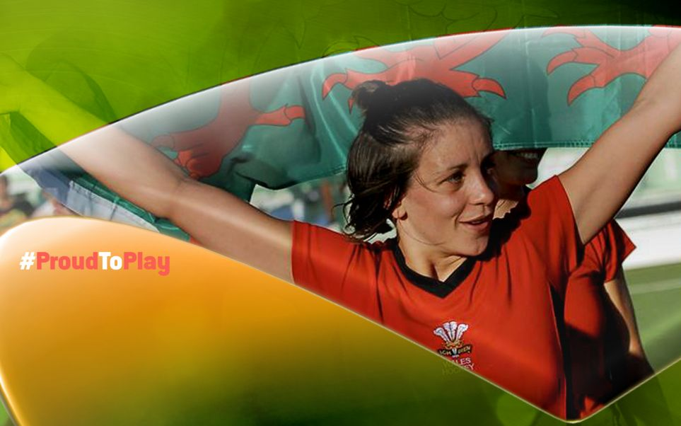#ProudToPlay Campaign supporting the LGB&T community in sport on National Coming Out Day